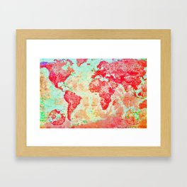 Oh, The Places We'll Go... Framed Art Print