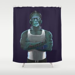 Guilty By Association Shower Curtain