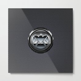 Shield Logo Metal Print