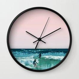 Surfing USA Wall Clock