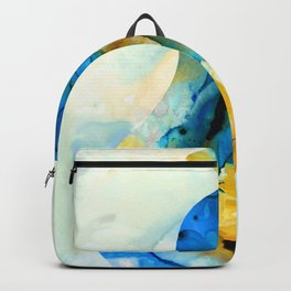 A Nice Pear - Abstract Art By Sharon Cummings Backpack
