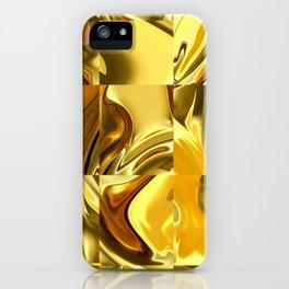 Golden mirror iPhone Case