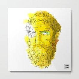 Epicurus Metal Print