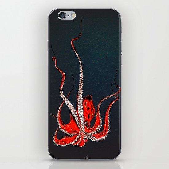 Kiss Of The Octopus iPhone & iPod Skin