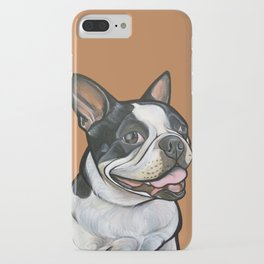 Snoopy the Boston Terrier iPhone Case