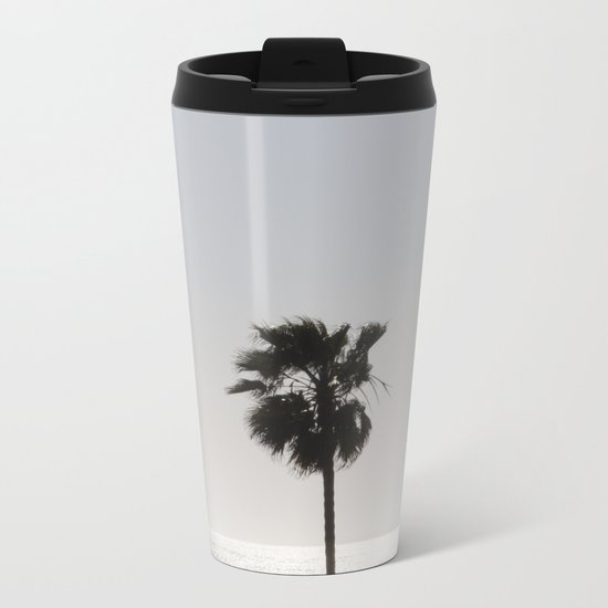 Sun Palm Metal Travel Mug