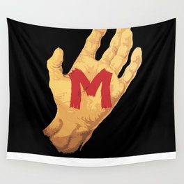 The Hand and the Murderer Wall Tapestry