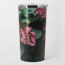 Hydrangeas in the Garden Travel Mug
