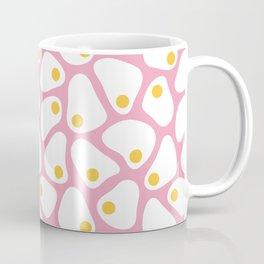 Fried Egg Pattern Coffee Mug