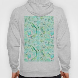Mermaid Pattern 01 Hoody