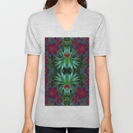 Love Among the Lilies Unisex V-Neck