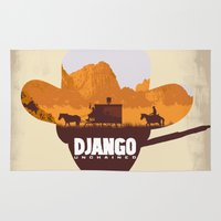 django Area & Throw Rugs featuring Django Unchained by TxzDesign