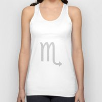 scorpio Tank Tops featuring Scorpio by David Zydd