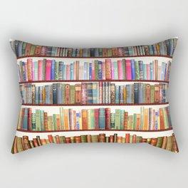 Jane Austen Vintage Book collection Rectangular Pillow