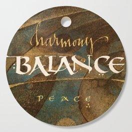 Balance Cutting Board