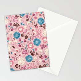 Pretty Pink Stationery Cards