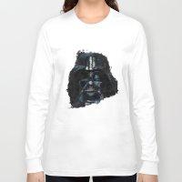 darth vader Long Sleeve T-shirts featuring Darth Vader by BarLevitsky
