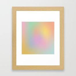 Gradient III Framed Art Print