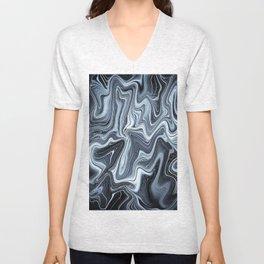 Ripple art Unisex V-Neck