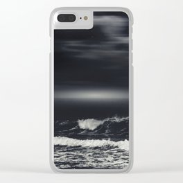 bLack sEa Clear iPhone Case
