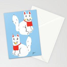 Kitsune - Japanese Messenger Fox Stationery Cards