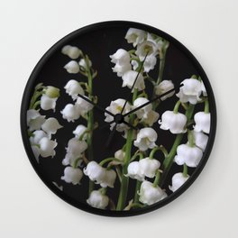 lilly of the valley 5 Wall Clock