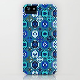 Blue klim iPhone Case