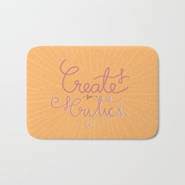 Create for Critics  Bath Mat