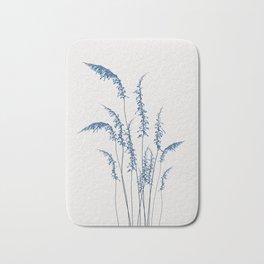 Blue flowers 2 Bath Mat