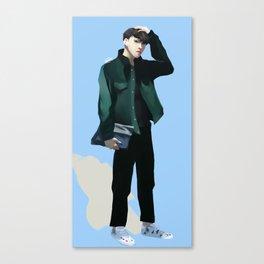 vixx jaehwan airport fashion Canvas Print