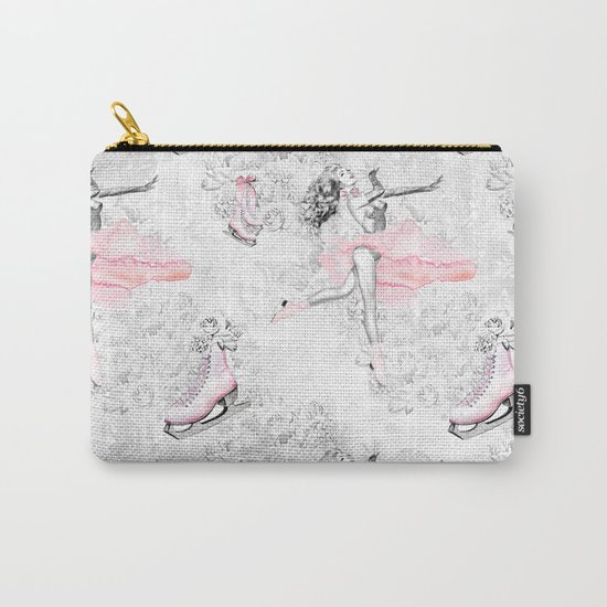 Figure Skating #1 Carry-All Pouch