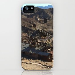 Calico California Ghost Town iPhone Case