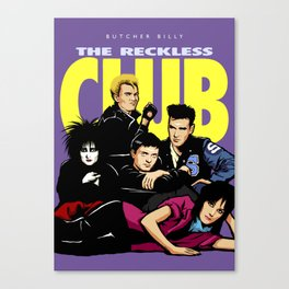 The Reckless Club Canvas Print