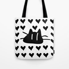 LOVE LOVE CAT Tote Bag