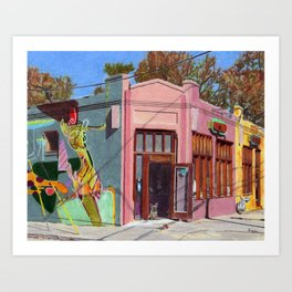Dry Cleaners, Inman Park Art Print
