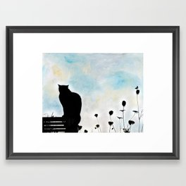 Blue Days Framed Art Print