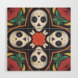 Skulls and Bones Wood Wall Art