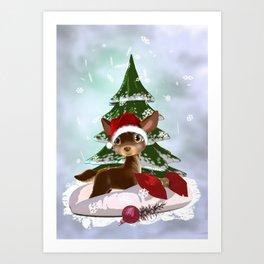 Christmas Present Art Print