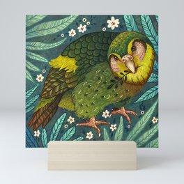 Kakapo Mini Art Print