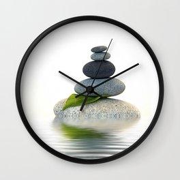 Balance And Harmony Wall Clock