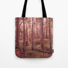 Forest Trees - The Vintage Wilds Tote Bag