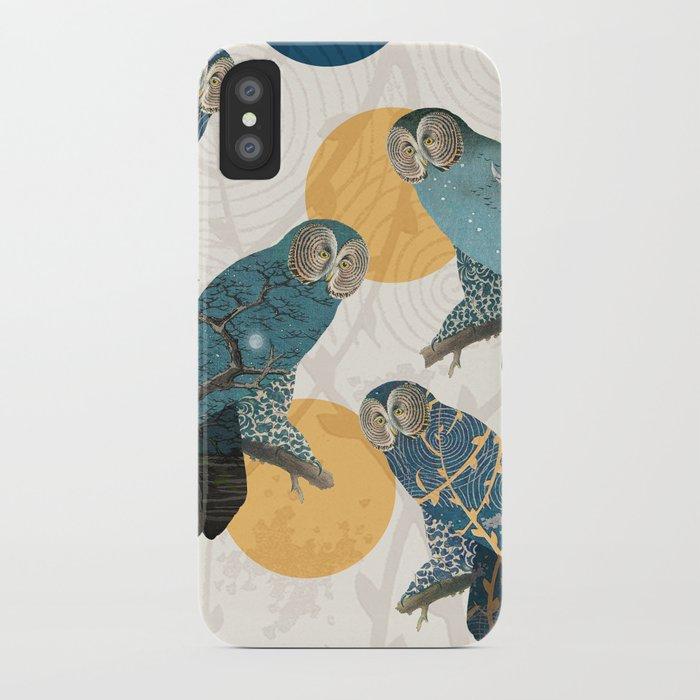 Night Owl Polka iPhone Case