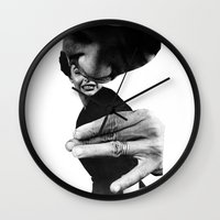popsicle Wall Clocks featuring Popsicle by Erin Case