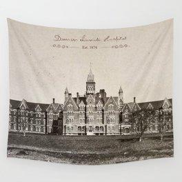 Danvers State Hospital (Danvers Lunatic Hospital), Kirkbride Wall Tapestry