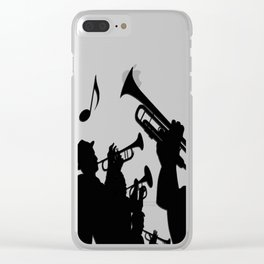 Jazz it Up Clear iPhone Case