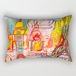Ayutthaya in Thailand Rectangular Pillow