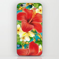 tropical color party  iPhone & iPod Skin