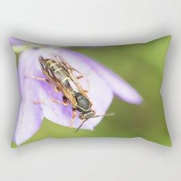 Paper Wasp 6 Rectangular Pillow
