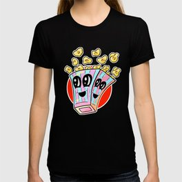 Fast food FRENZY! Polly Popcorn - Sweet And Salty T-shirt