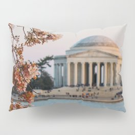 Cherry Blossoms at the Jefferson Pillow Sham